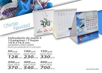 OFERTAS CALENDARIOS 8